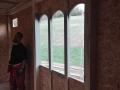 11 - Donjon - první patro - pohled na hlavní okno