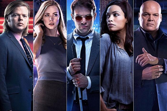 Hlavní hrdinové seriálu