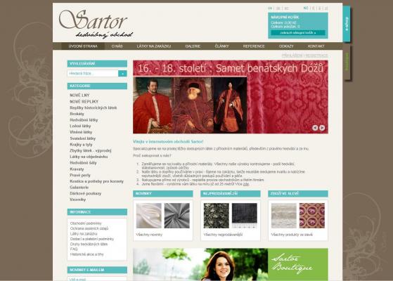 Sartor - web